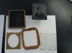 Taking apart a Daguerreotype for cleaning and repair